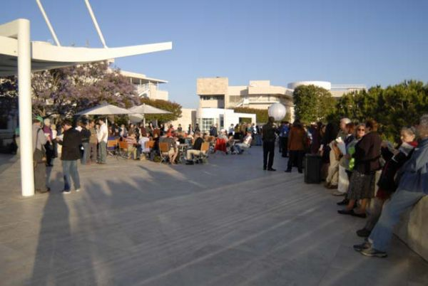 The world premiere at the Getty Center (6.5.08) [SG]