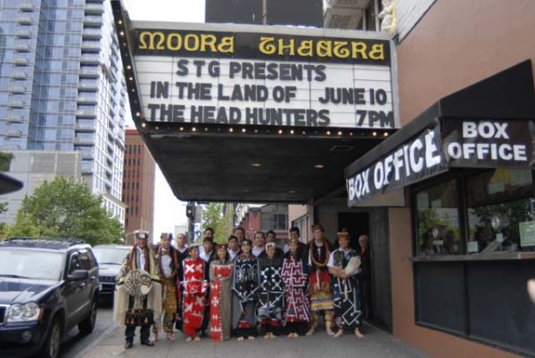 Gwa'wina Dancers at the Moore Theatre (6.10.08) [SG]